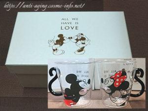 Disney 耐熱ペアマグ(ミッキー&ミニー) ホワイトデーのお返しや結婚祝い等プレゼントにお勧め!